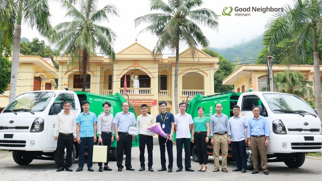 RoK's NGO supports Mai Chau to implement waste treatment project