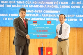 friendship association shows solidarity with armenian friends in combating covid 19