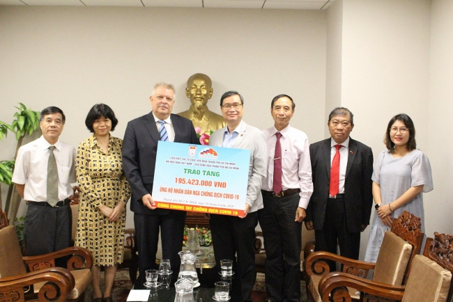 Vietnam donates over USD 8.400 to help Russia fight against COVID-19
