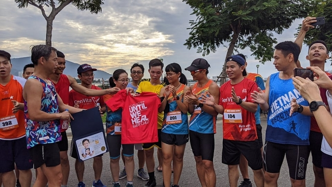 Athletes run across Vietnam to create life-changing smiles for underprivileged children