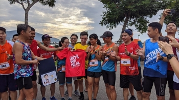 athletes run across vietnam to create life changing smiles for underprivileged children