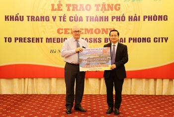 hai phong city donates one million masks to aid global coronavirus response