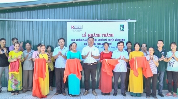 Quang Tri: Project RENEW launches newly-built workshop for blind association