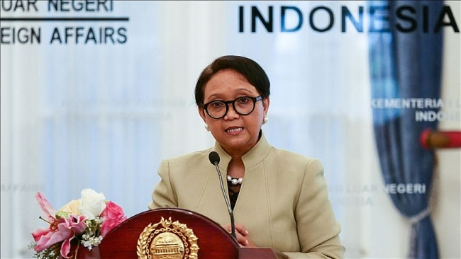 Indonesia FM: Negotiations on Code of Conduct in South China Sea (East Sea) should resume soon