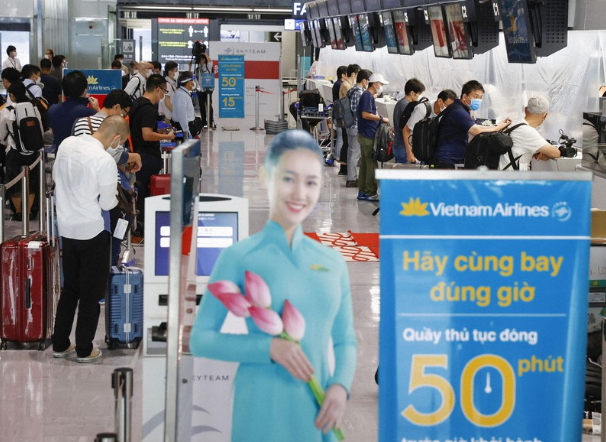 First Japan-Vietnam flight takes off as travel partially resumes