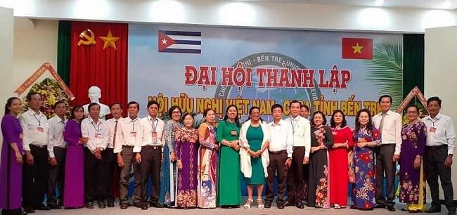 Vietnam-Cuba Friendship Association of Ben Tre province founded