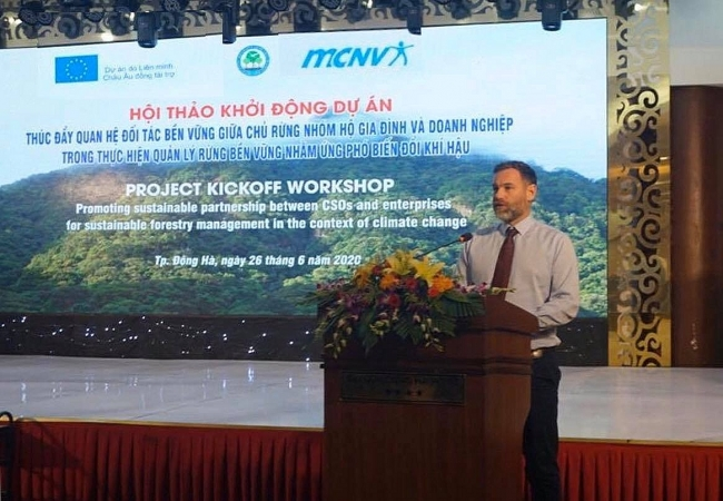 EU & MCNV promote sustainable forest management in the context of climate change in Quang Tri