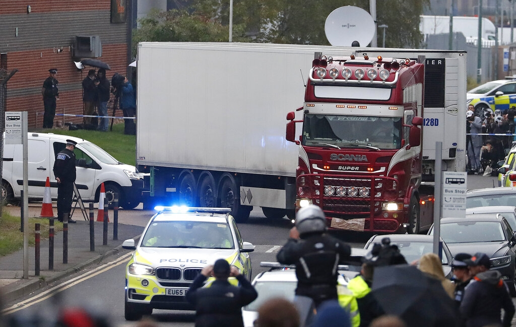 39 lorry deaths: Another suspect admits immigration offence