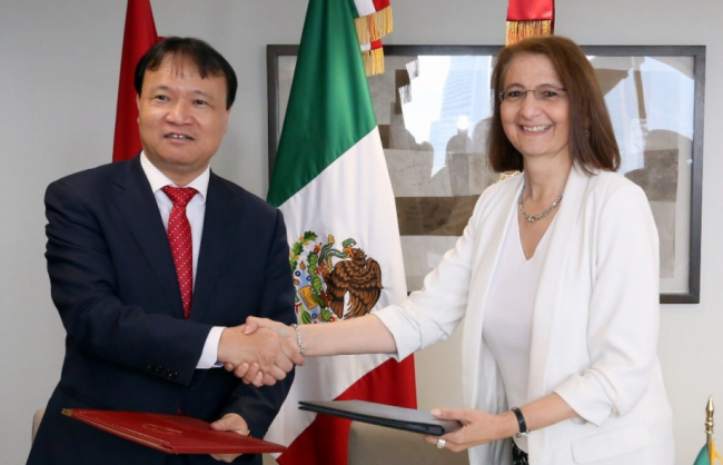 Mexico - Vietnam: 45 years of friendship and cooperation