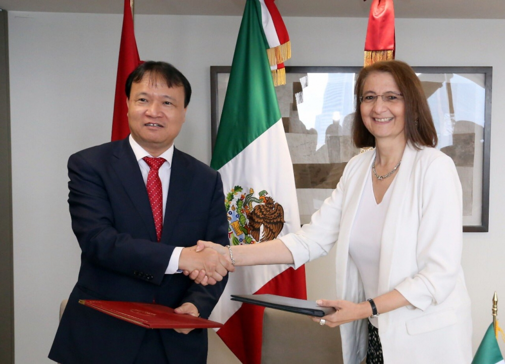 mexico vietnam 45 years of friendship and cooperation