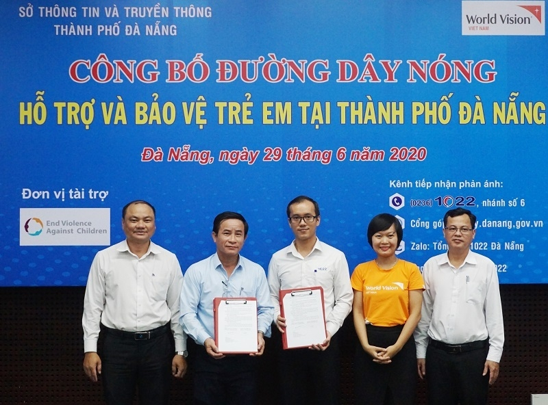 hotline to protect children from sexual abuse launched in da nang