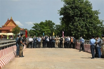 Vietnam, Cambodia put new international border gates into operation