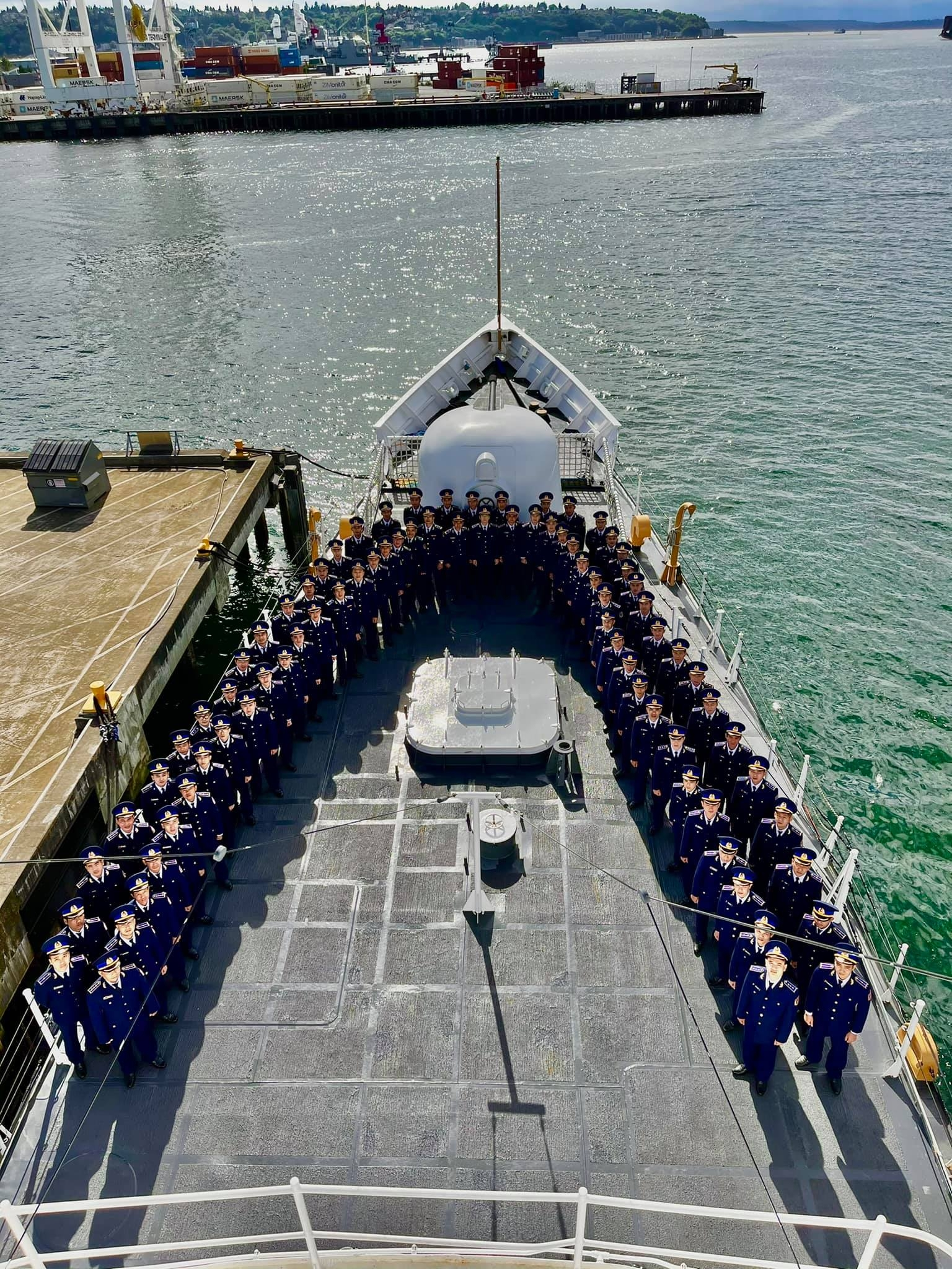CSB 8021 Patrol Vessel about to depart for Vietnam