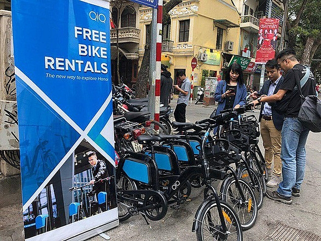 Hanoi to pilot free electric bicycles rental system connecting bus routes and BRT