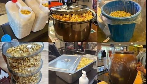 World Environment Day: Korean movie goers use kimchi jars, buckets...to buy popcorns
