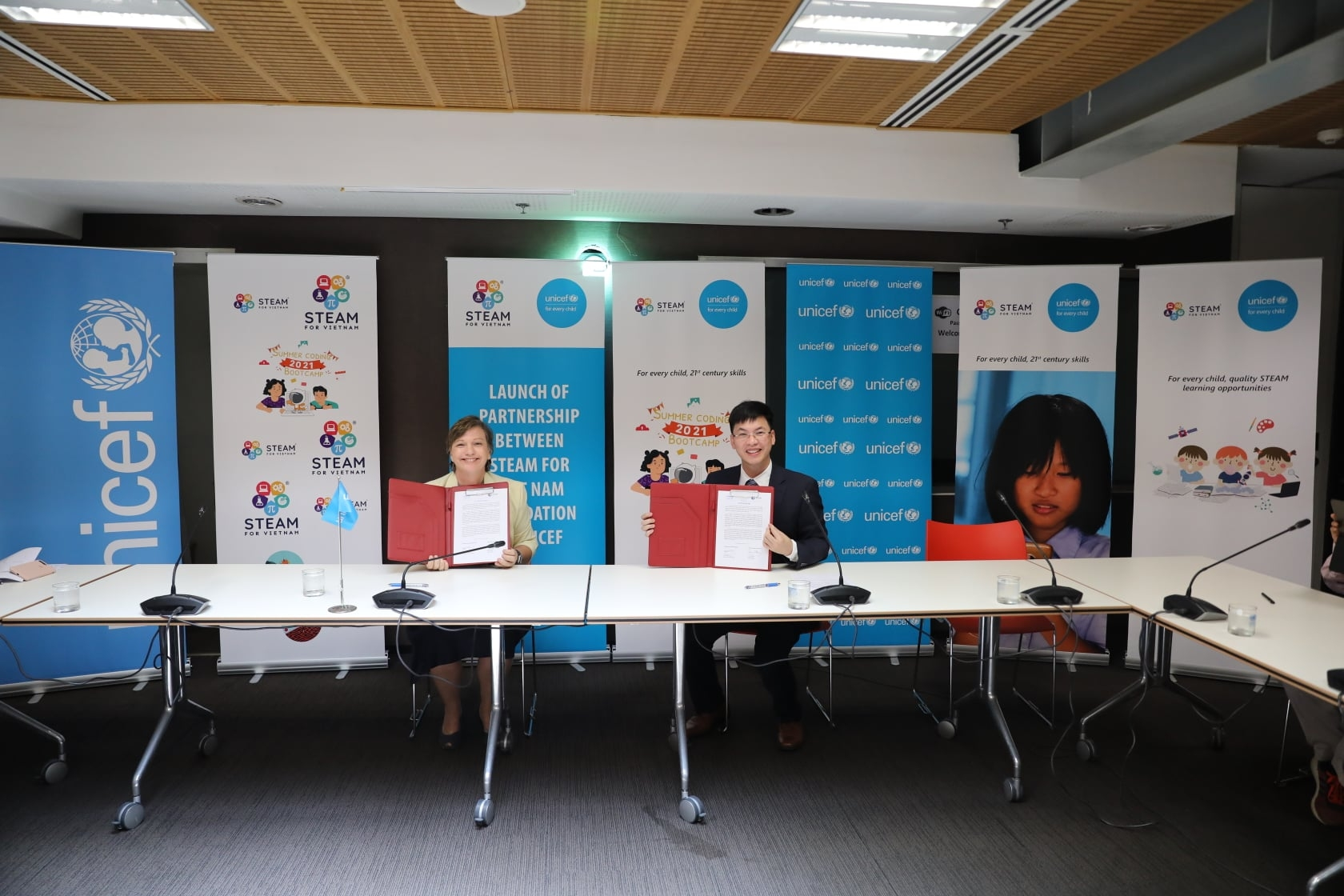 UNICEF, US non-profit organization brings STEAM learning opportunities to children