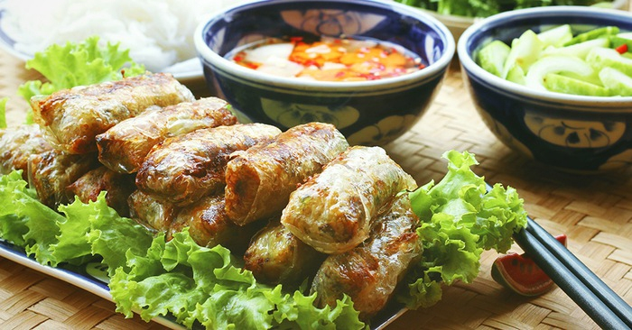 Recipe: Vietnamese perch spring rolls [video]