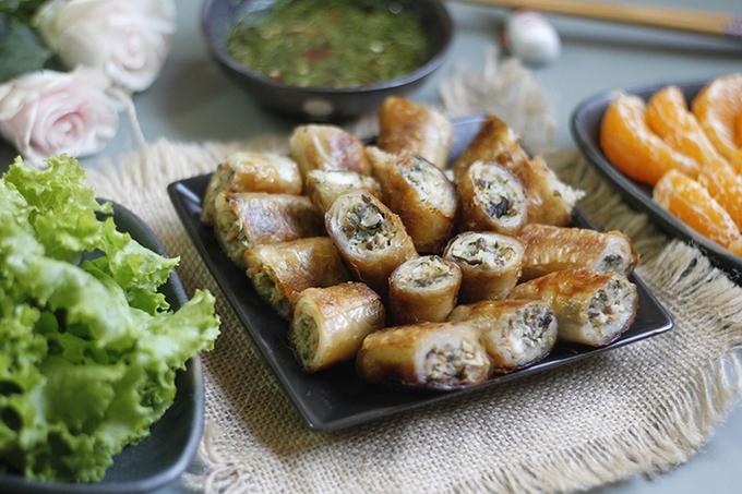Recipe: Vietnamese perch spring rolls with video