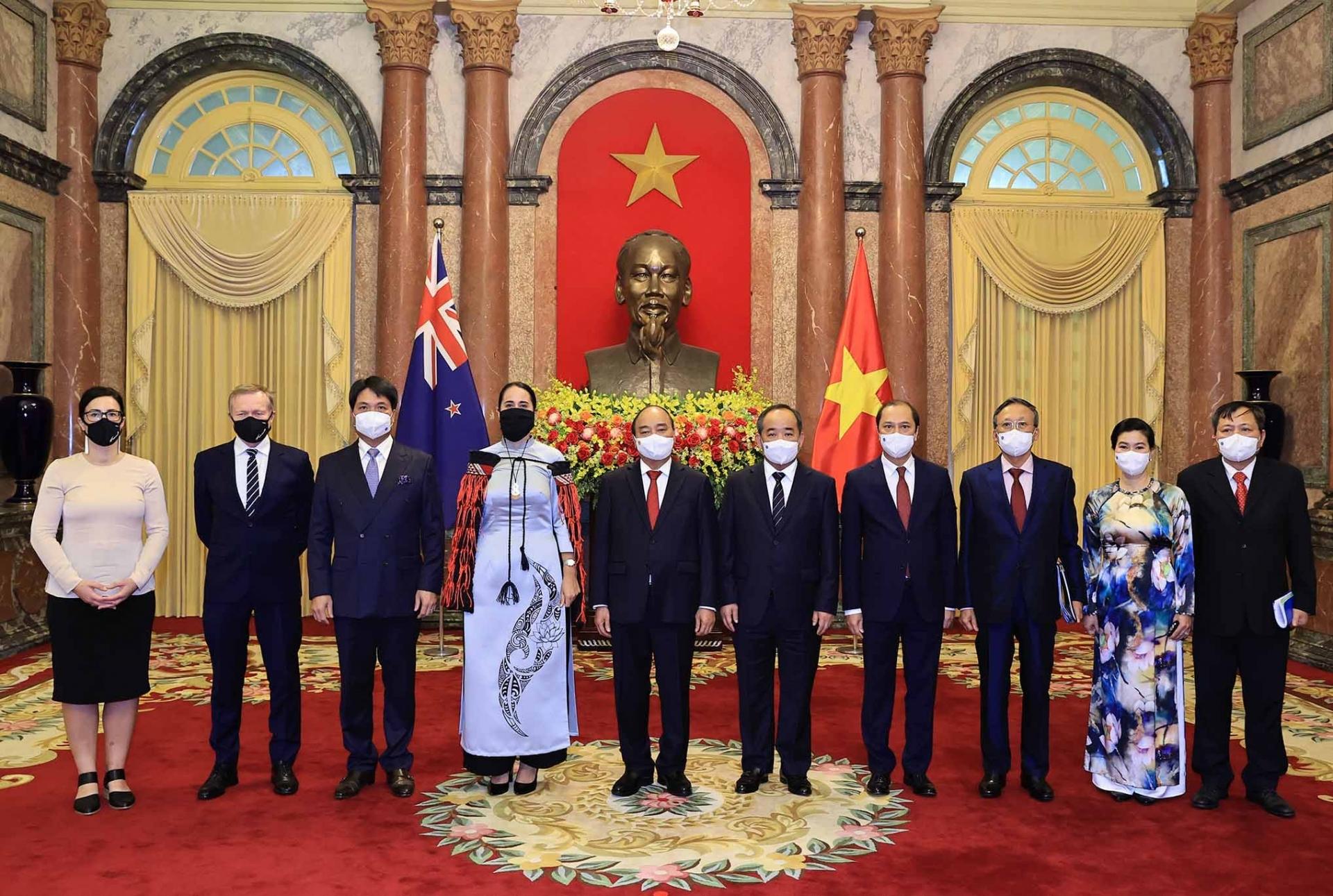 Ambassador's ao dai showcases Vietnamese and New Zealand cultural connections