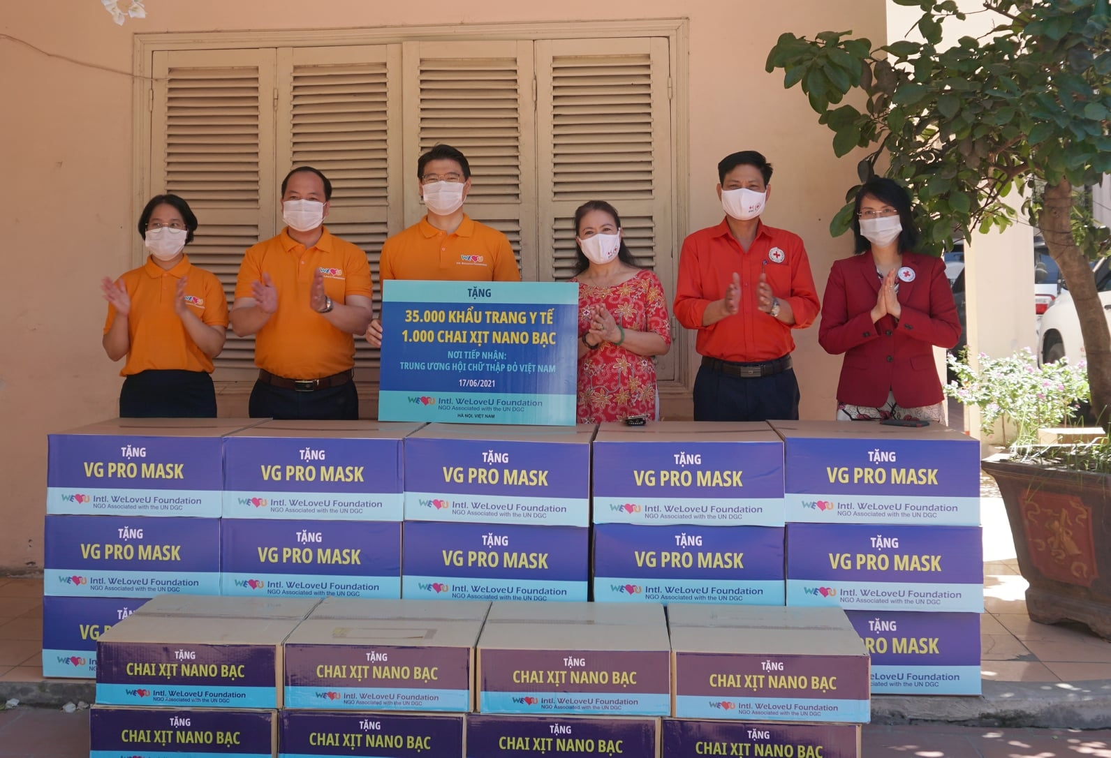 Korean friends support Vietnam's Covid-19 fight
