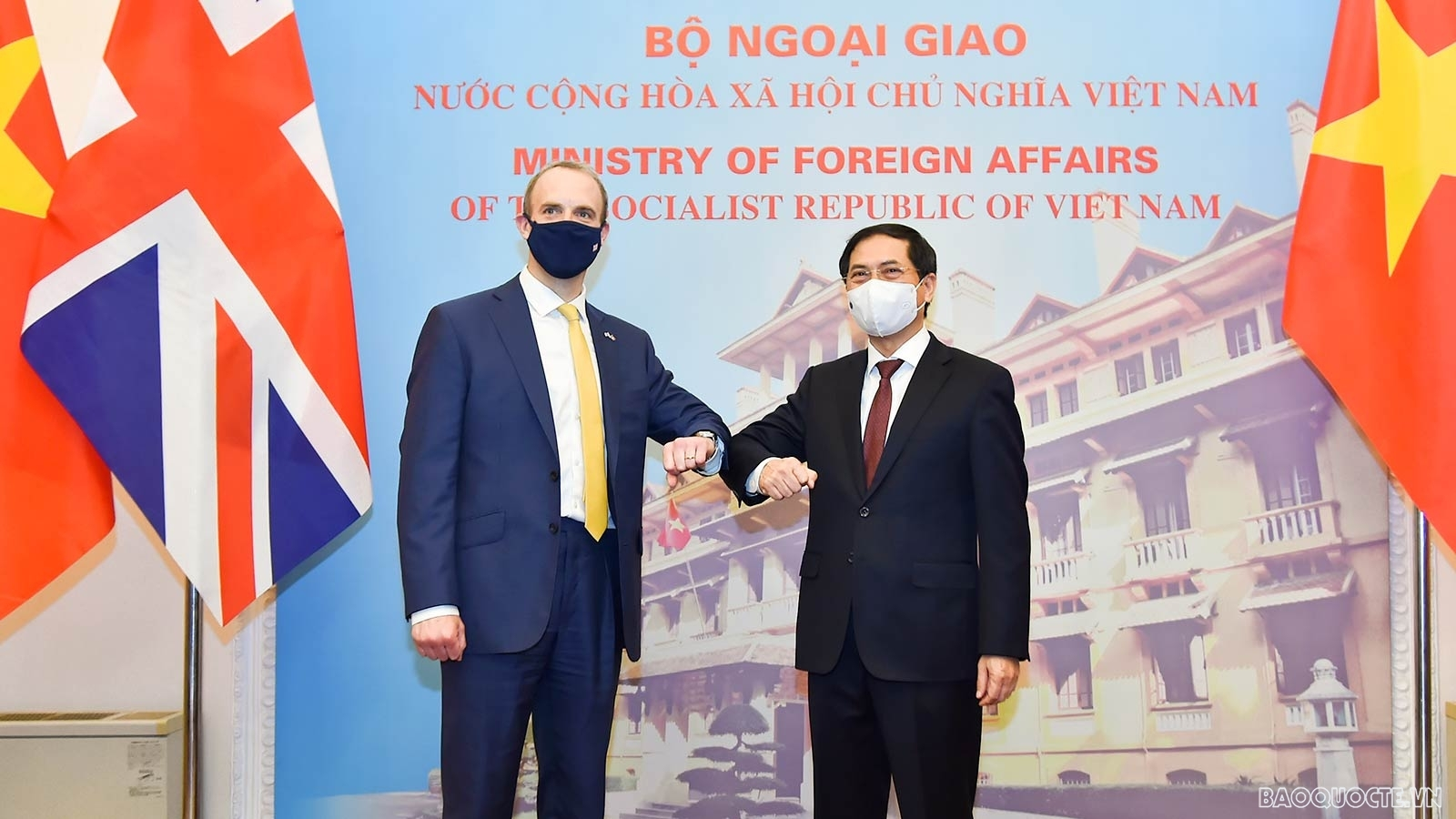 UK Foreign Secretary visits Vietnam for the second time in nine months