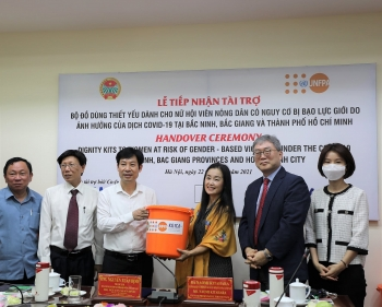 UNFPA, KOICA, Australia and Japan support women in Covid-19-hit provinces