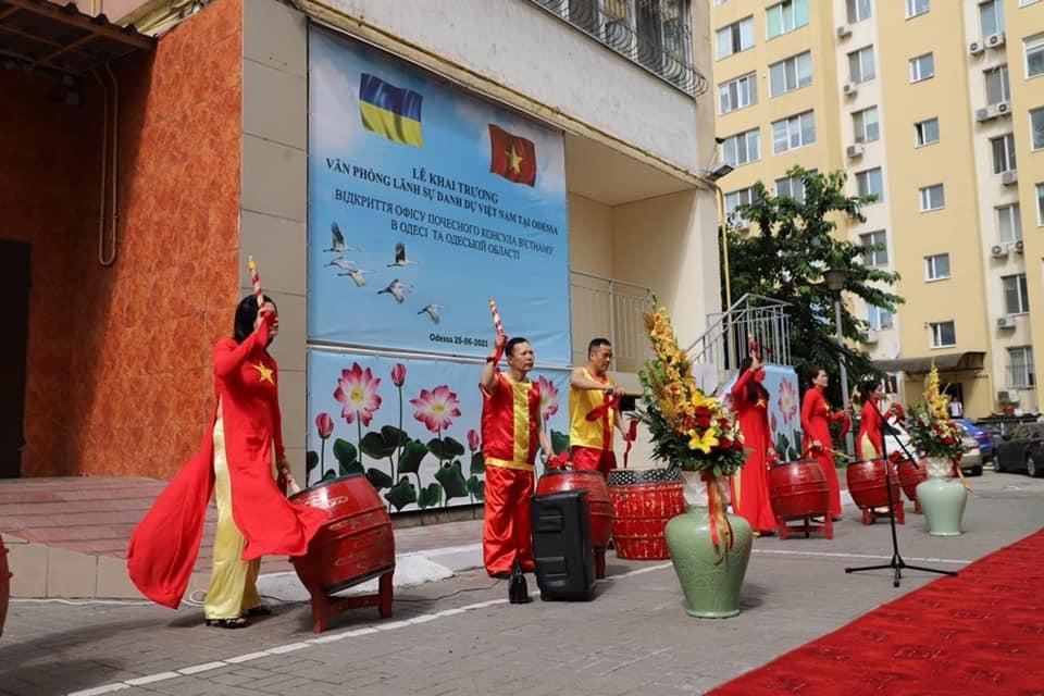 Honorary Consulate of Vietnam in Odessa province of Ukraine opened