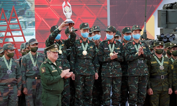 Vietnam to use new tank in 2021 Army Games