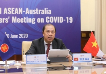 asean australia coordinate closely to develop covid 19 vaccines medicine