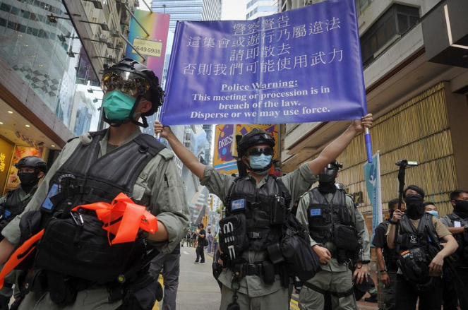 fm spokesperson vietnam hopes situation in hong kong stabilized soon