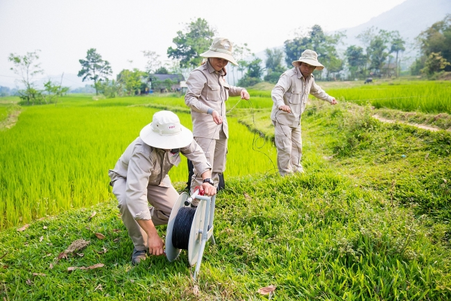 New survey and clearance projects started in Quang Binh