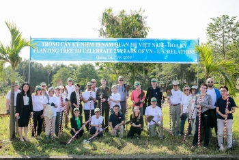 foreign ngos celebrates 25 years of vietnam us diplomatic ties