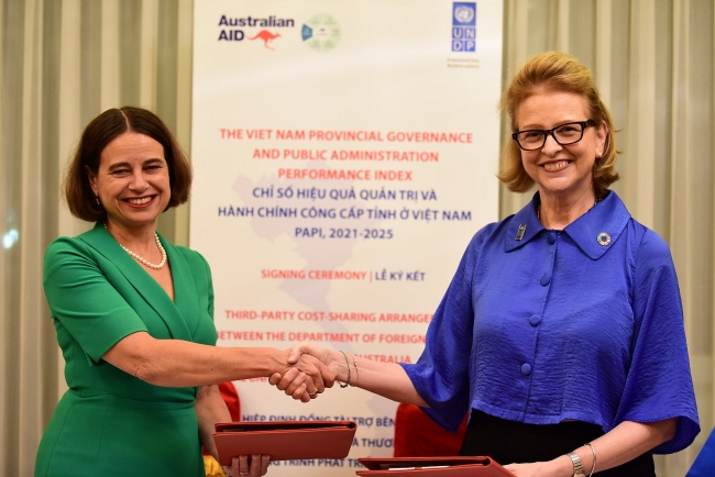 Australia provides additional funding to Vietnam's public administration reform and improvement
