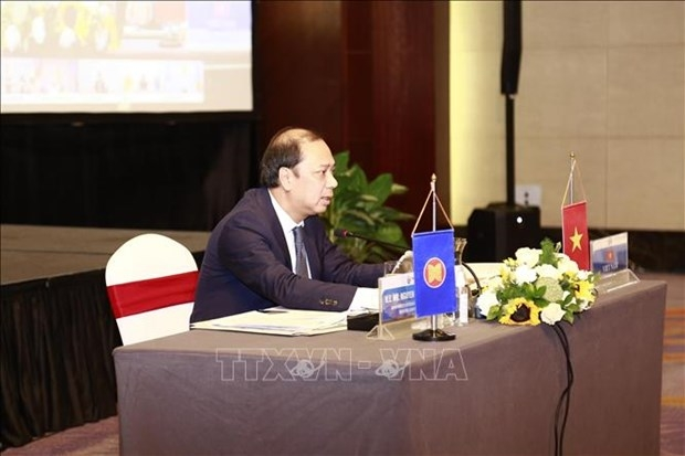 asean officials mull building recovery framework