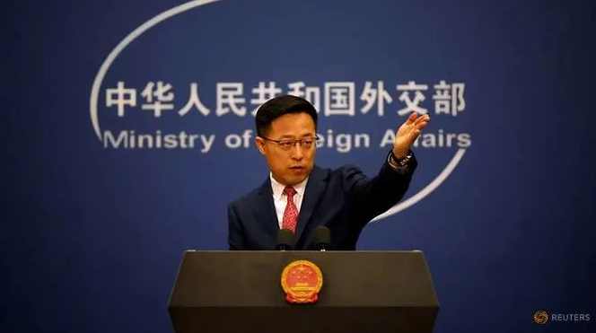 chinese fm spokesman us is undermining stability in south china sea