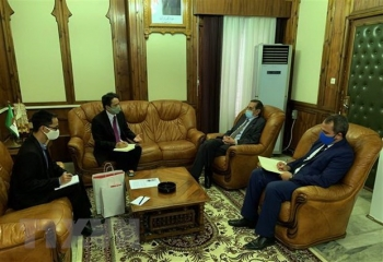 vietnam steps up cooperation with algeria in information archiving