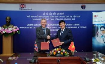 vietnam uk step up health cooperation