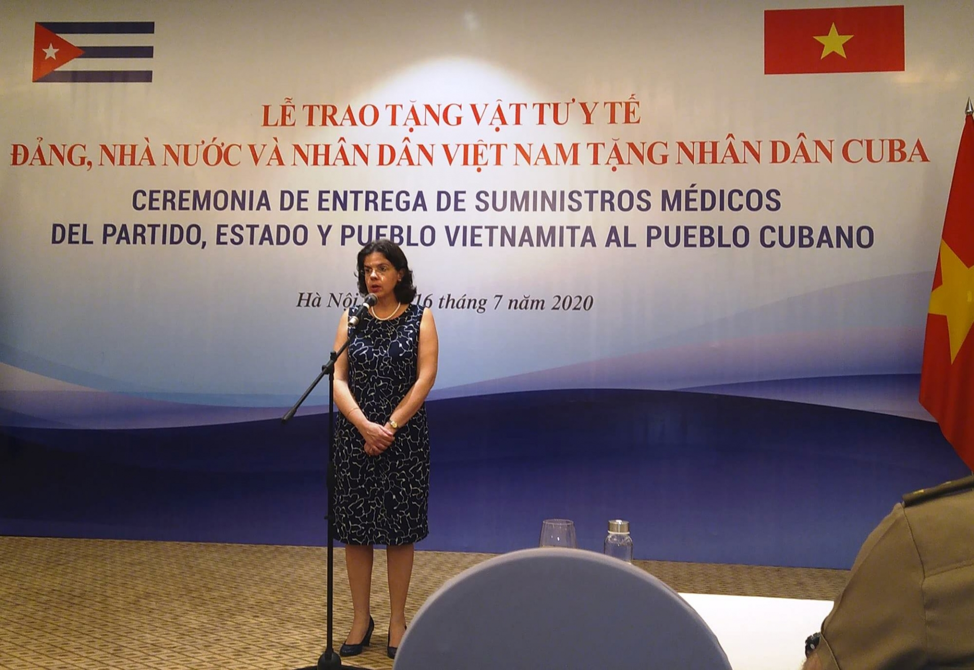 cubas ambassador we have never abandoned each other even in the most difficult situation