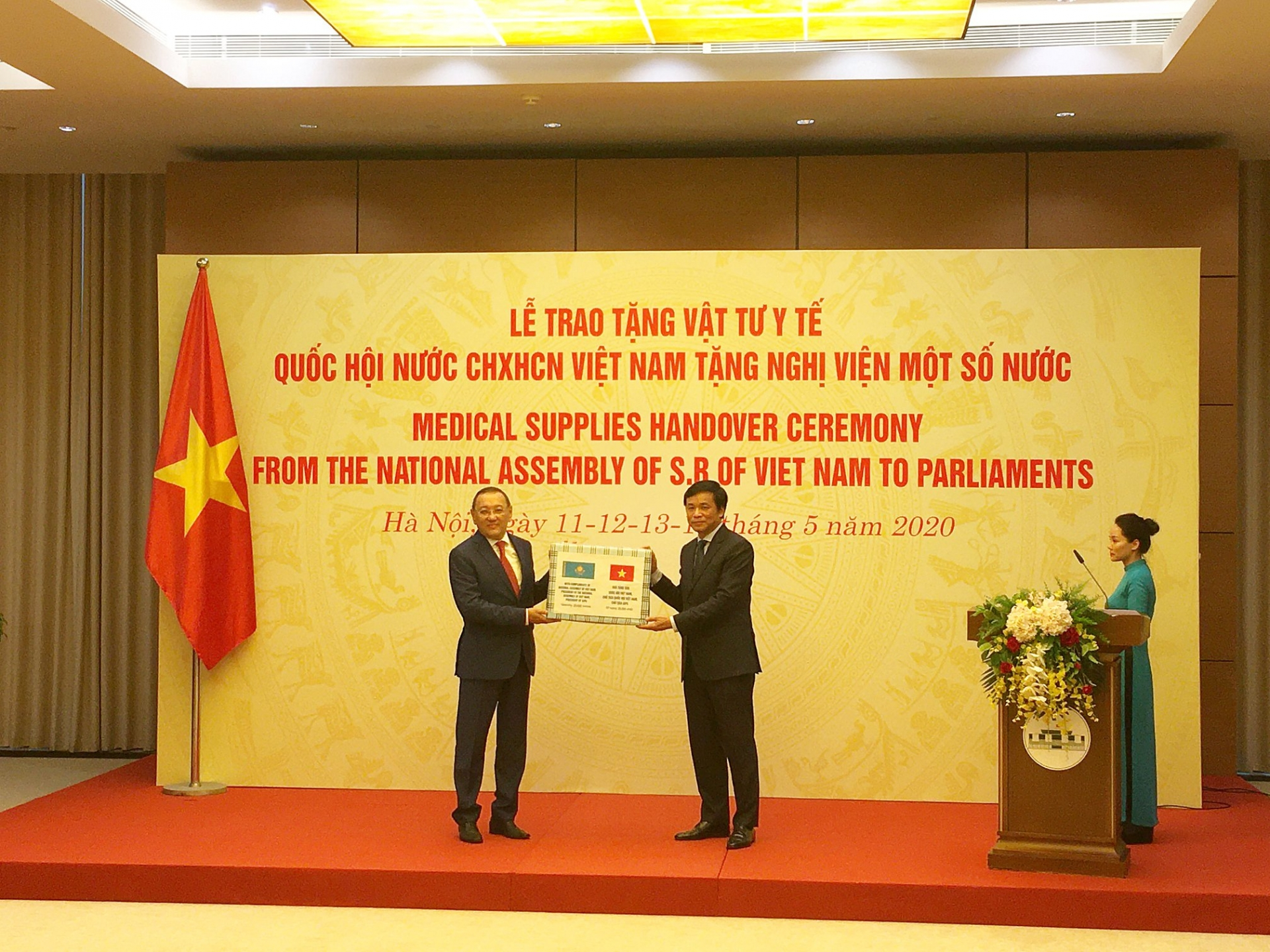 kazakhstan thanks vietnam for donating supplies to fight covid 19