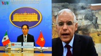 fm deputy minister vietnam ready to bolster all around cooperation with mexico
