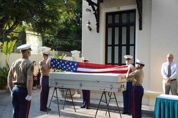 153rd handover american missing servicemens remains took place since 1973