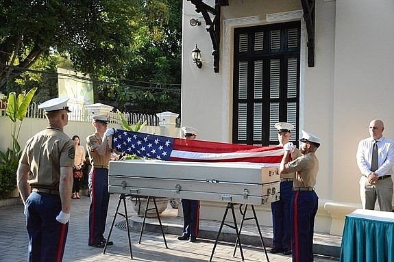 153rd handover American missing servicemen's remains took place since 1973
