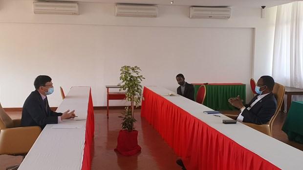 vietnam mozambique boost ties between parties