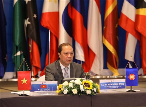 ASEAN Regional Forum Senior Officials Meeting held via video conference hinh anh 1