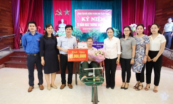 VUFO gifts USD 1.500 to revolution contributors