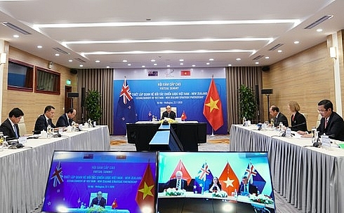 Vietnam, New Zealand formally elevate ties to strategic partnership