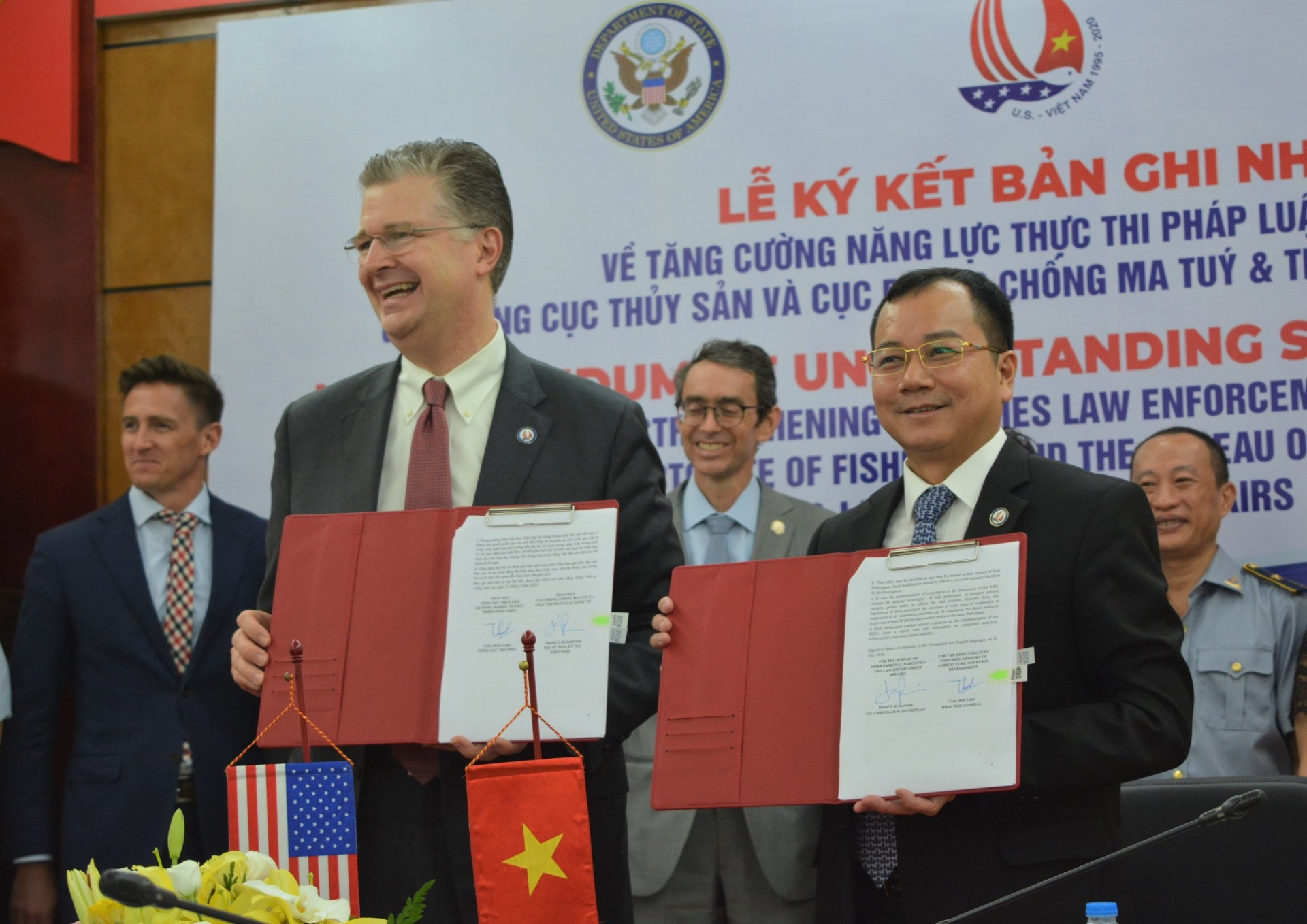 us helps vn strengthen fisheries sustainability and combat iuu fishing