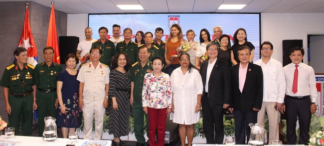 Gathering in HCM city to celebrate Cuba's Moncada Barracks attack