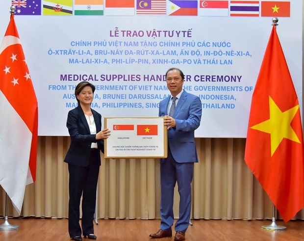 Singapore sees Vietnam valuable friend during COVID-19 hinh anh 1