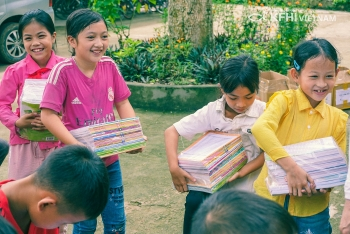 samsung hope school for poor students building in bac giang